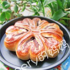 【原创首发】豆沙馅花环面包&辫子面包