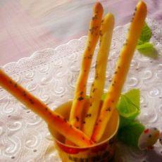圣诞拐杖面包棒
