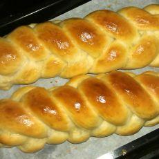 汤种五股辫子面包