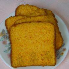 南瓜土司――面包机面包之二