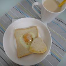 煎荷包蛋吐司