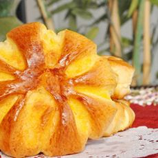 花形椰蓉面包