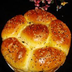 黑加仑花式面包