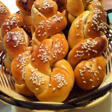 蜂蜜麻花面包