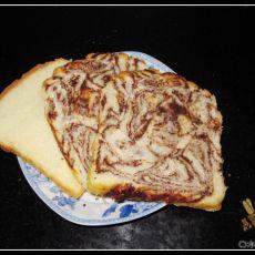 云纹巧克力奶酪吐司&奶油白吐司