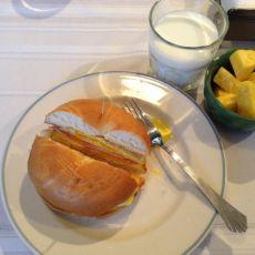 三明治面包圈