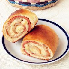 培根面包卷的做法