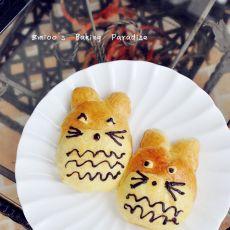 龙猫酥皮面包