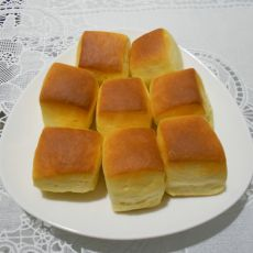 一口乳烙面包