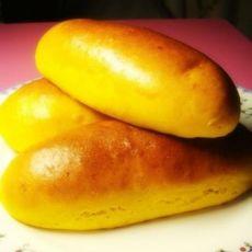 葡萄豆沙南瓜面包的做法