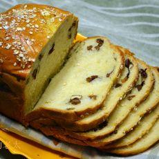 核桃红枣面包