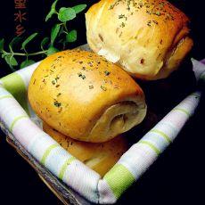 香葱卤肉小面包的做法