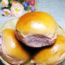 紫薯小面包