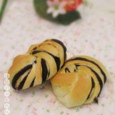 黑豆沙面包卷