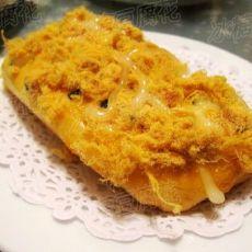 沙拉肉松大大面包