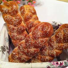 豆渣辫子面包