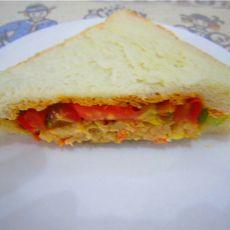 肉饼三明治(首发)的做法