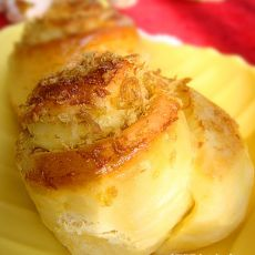芝士肉松面包