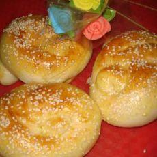奶香芝士咸味面包的做法