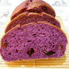 蔓越莓紫薯面包