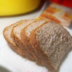 全麦果酱面包