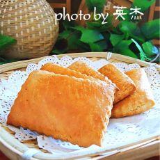 东北老式发面大饼干