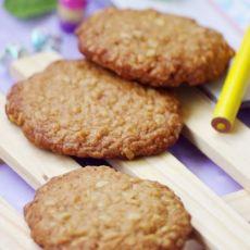健康红糖燕麦饼干