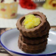 卡仕达可可饼干