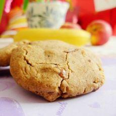 芝麻酱核桃仁小酥饼