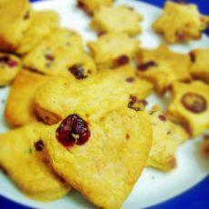 低糖低热量---蔓越莓手工饼干