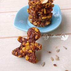 巧克力玉米脆饼的做法