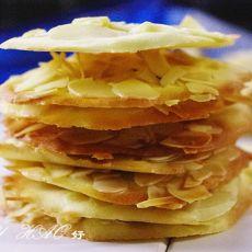 杏仁薄脆饼的做法