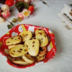 葡萄干奶油饼干