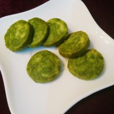 斑点黄油抹茶饼干的做法