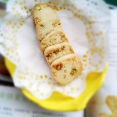 开心果蜂蜜脆饼的做法