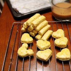 咸酥肉松饼干