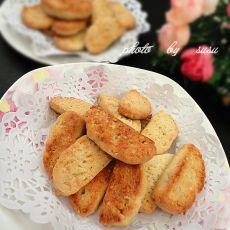 低糖豆渣芝麻饼干