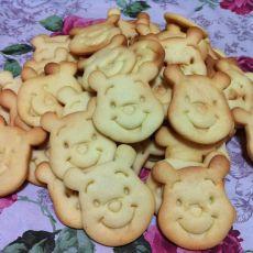 亲子维尼熊饼干