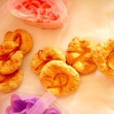 橙香蛋黄小饼