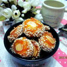芝麻杏仁小西饼