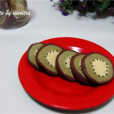 奇异果造型饼干