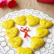 南瓜芝麻饼干