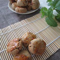 用芝麻糊做的香酥饼干