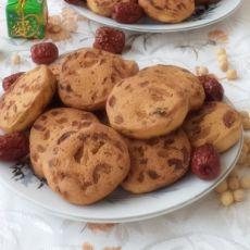 黄豆面红枣饼干