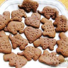 可可砂糖饼干