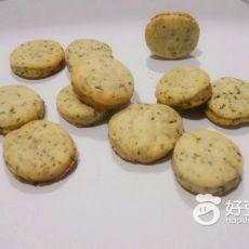 绿茶奶香饼干