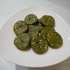 抹茶瓜子饼干的做法