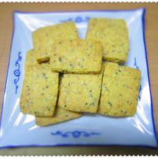 芝麻麦麸饼干