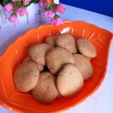 玉米面芝麻饼干