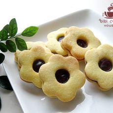蓝莓QQ糖果酱夹心饼干